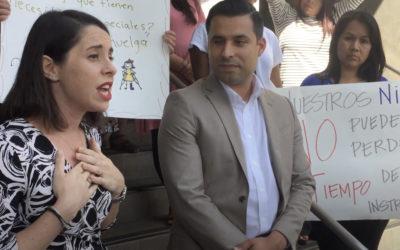 Sarah Angel speaks out on parents concern about LA teacher contract talks